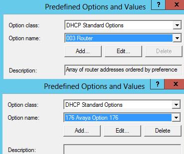 dhcp-predefine-settings