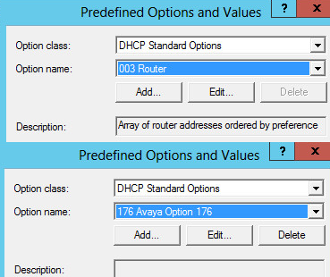 dhcp-predefine-settings